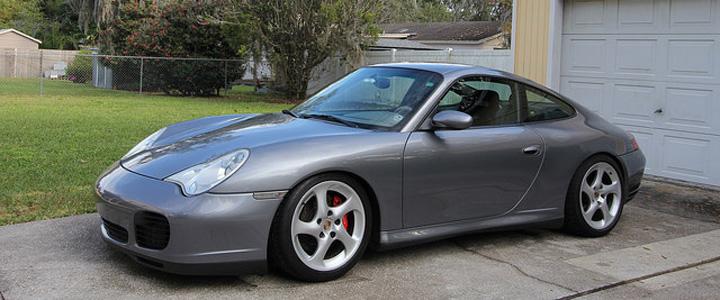 2002 Porsche 996 C4s Grey
