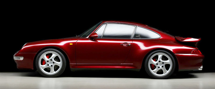 1996 Porsche 993 Turbo Arena Red