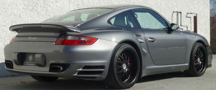 Porsche 911 For Sale >> 2008 Porsche 911 Turbo for Sale - Meteor Grey