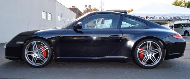 2010 Porsche 911 Cs Black
