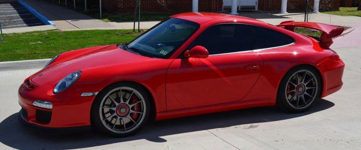 2010 porsche 997.2 gt3 for sale - guards red