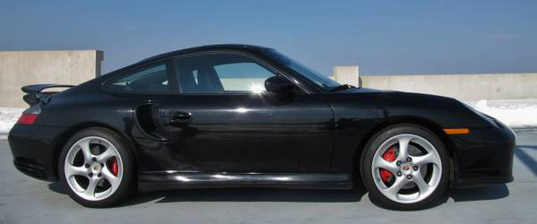 Porsche 911 Turbo For Sale 2001 Blackblack
