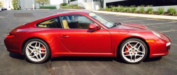 porsche 997 s for sale - 2012 ruby red
