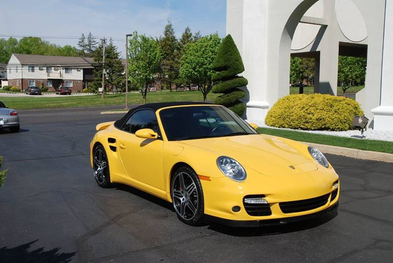 Porsche 911 Turbo Awd For Sale 2008 With Yellow Exterior