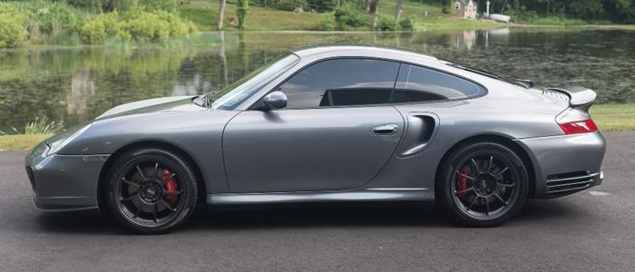 Porsche 996 Turbo >> 2003 Porsche 911 Turbo In Seal Grey