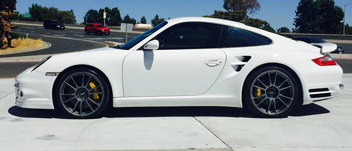 2007 Porsche 997 Turbo In White
