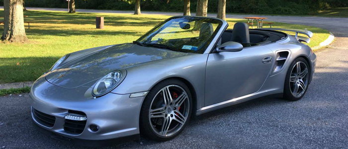 2009 Porsche 911 Turbo Cabriolet With Manual